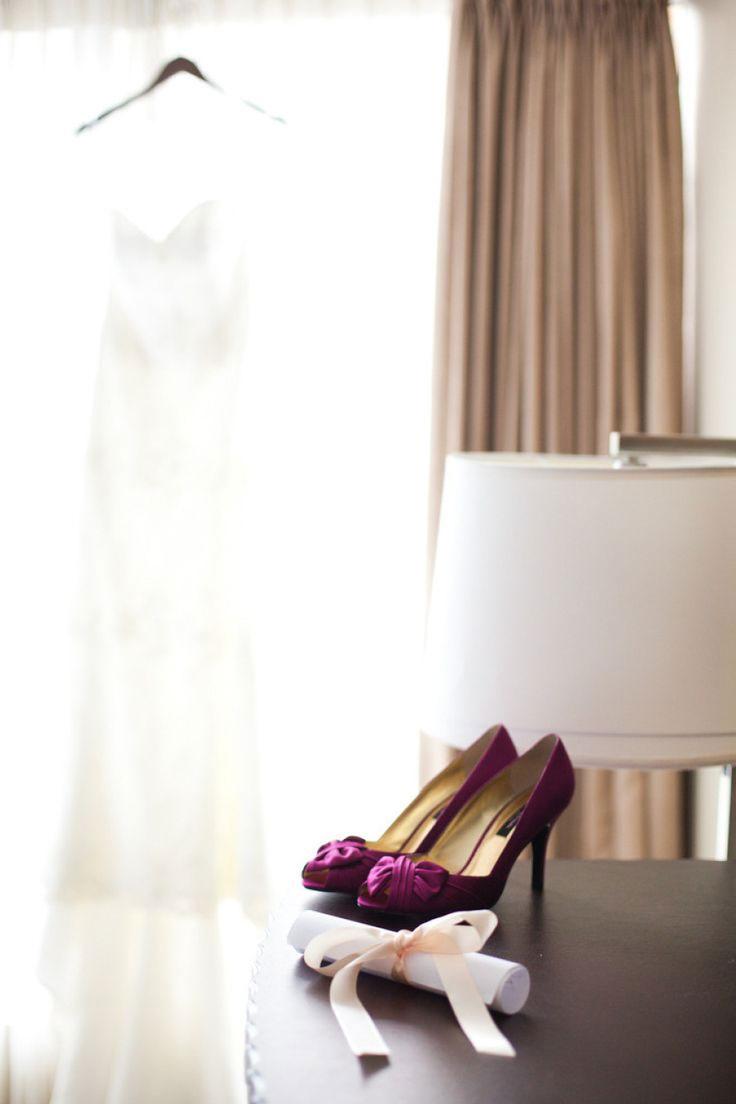 Plum Purple Wedding Colourswedding Inspiration