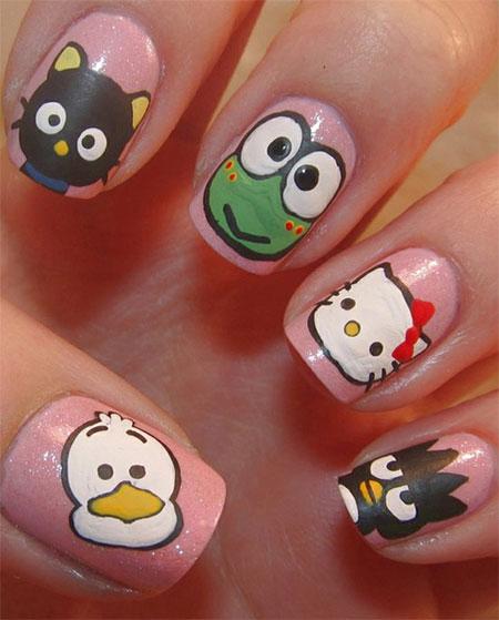 Art Designs O Kitty Nail