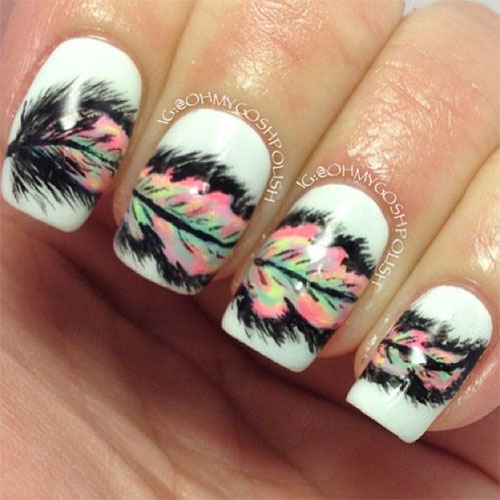 12 Valentines Day Acrylic Nail Art Designs Ideas