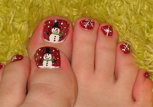 Amazing Toe Nail Art Designs Ideas For Beginners