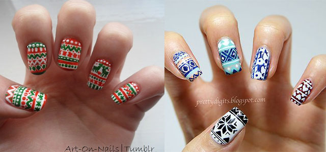 20 Christmas Snow Nail Art Designs Ideas 2017 Xmas Nails