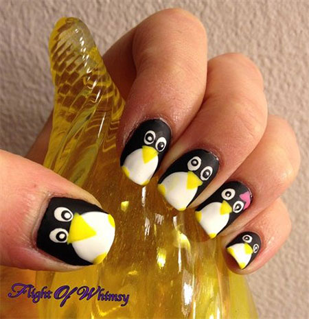 Group Of Penguin Nail Via Image