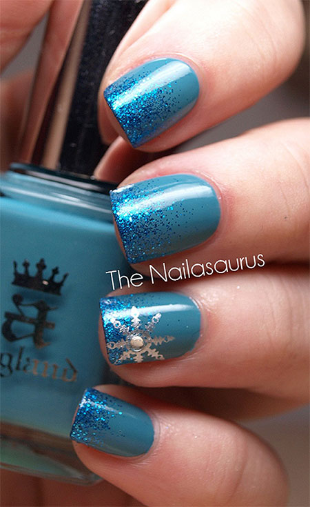 Easy Amp Simple Winter Nail Art 2013 2014 For Beginners Amp Learners Fabulous Nail Art Designs