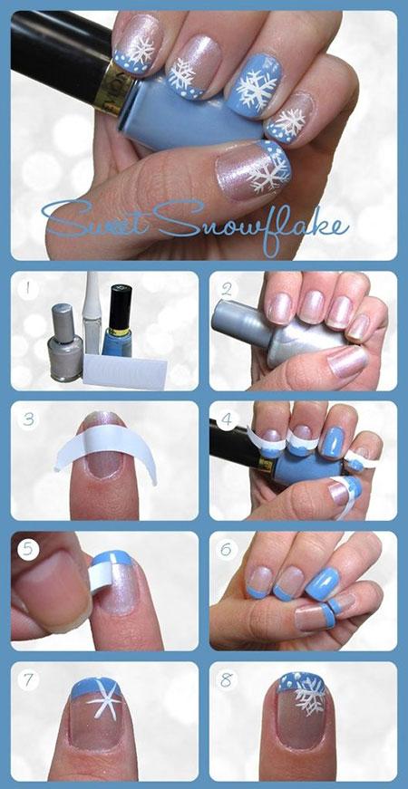 Nail Art Snowflake