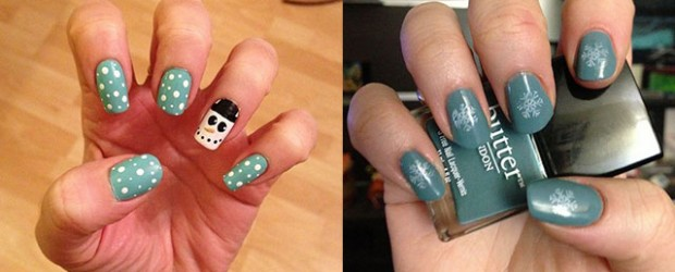 Very Easy Winter Nail Art Designs 2017 For Beginners Learners