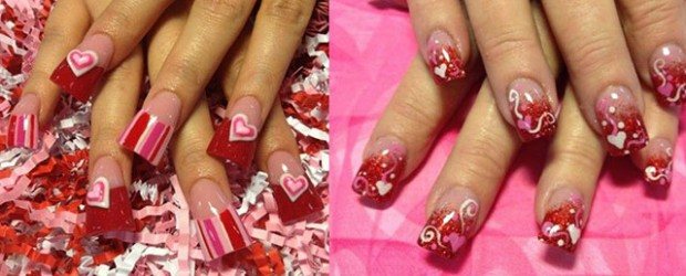Inspiring Nail Art Designs Ideas For Valentine S Day 2017 Heart Nails