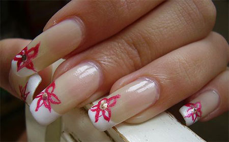 Very Simple Easy Valentines Day Nail Art Designs