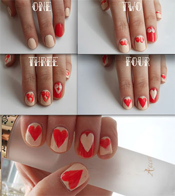 Amazing Valentines Day Nail Art Tutorials 2016 For