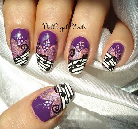 Amazing Music Nail Art Designs Ideas Amp Trends 2014