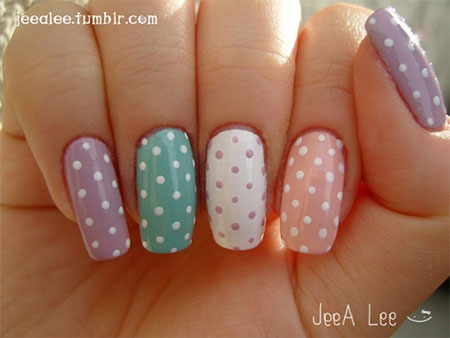 Easy Spring Nail Art Designs Ideas Trends 2017