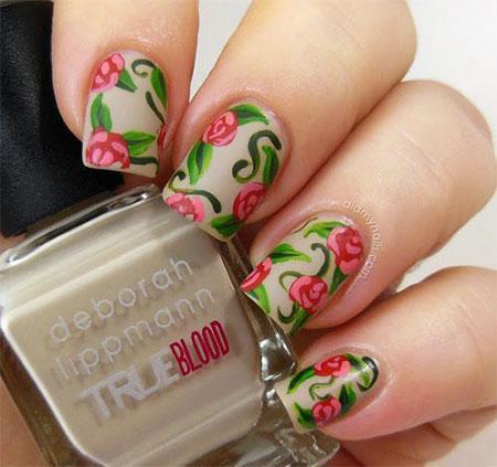 Spring Flower Nail Art Designs Ideas Trends 2017