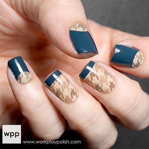 50 Best Houndstooth Nail Art Designs Ideas Trends