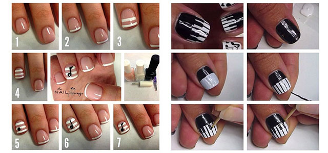 Simple Nail Art Tutorials 2017 For Beginners Learners Fabulous Designs