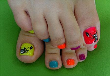18 Summer Toe Nail Art Designs Ideas Trends