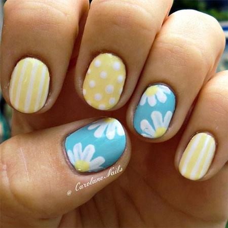 30 Cute Summer Themed Nail Art Designs Ideas Trends 2017