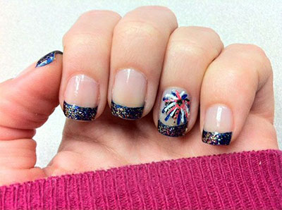 15 American Flag Nail Art Designs Ideas Trends