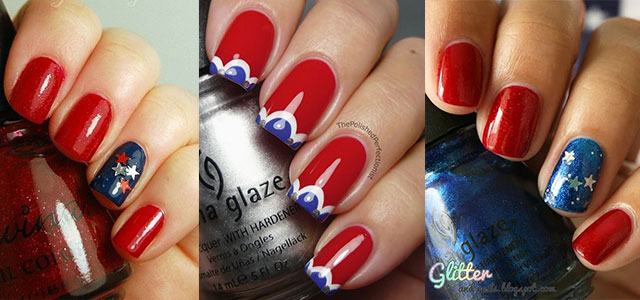 15 Easy Simple Fourth Of July Nail Art Designs Ideas Trends Stickers 2017 4th Nails Fabulous