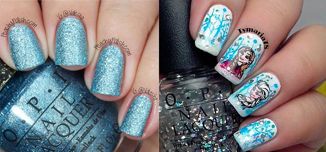 15 Disney Frozen Elsa Nail Art Designs Ideas Stickers 2017 Nails Fabulous