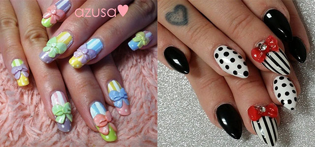 12 Stylish 3d Bows Nail Art Designs Ideas Trends Stickers Nails Fabulous