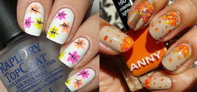 15 Amazing Fall Autumn Nail Art Designs Ideas Trends