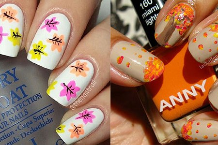 autumn nail art tutorials for beginners 2017 3 poodesigns easy fall