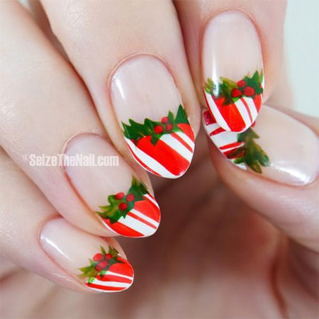 Amazing Collection Of Christmas Nail Art Designs Ideas