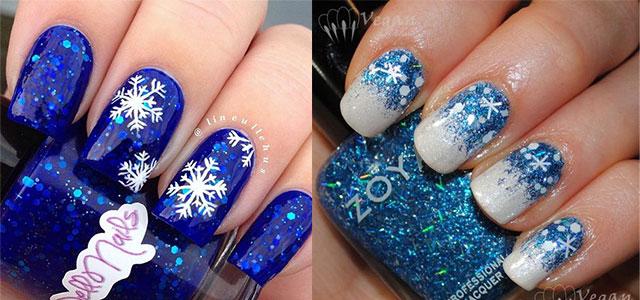 15 Blue Winter Nail Art Designs Ideas Trends Amp Stickers