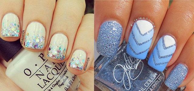 15 Winter Gel Nail Art Designs Ideas Trends