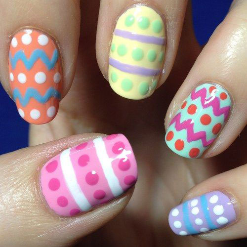 15 Easter Egg Nail Art Designs Ideas Trends