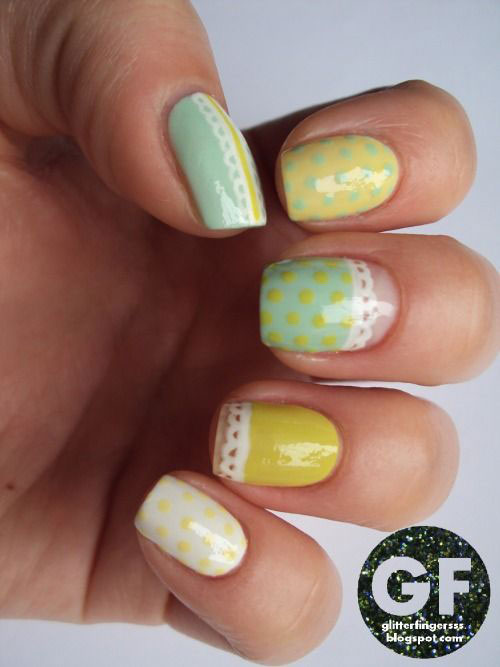 20 Simple Easy Amp Cool Easter Nail Art Designs Ideas