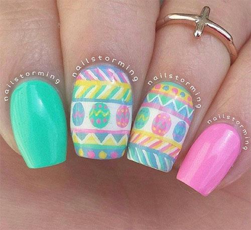 Cute Easter Gel Nail Art Designs Ideas Trends