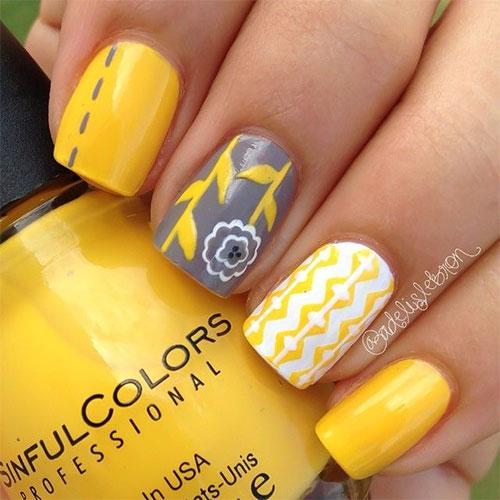 Spring Flower Nail Art Designs Ideas Trends 2016 Fabulous