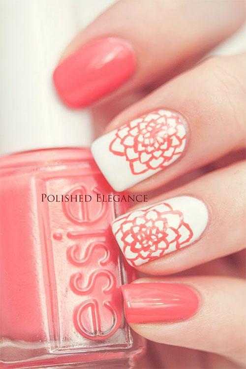 15 Inspiring Spring Flower Nail Art Designs Trends