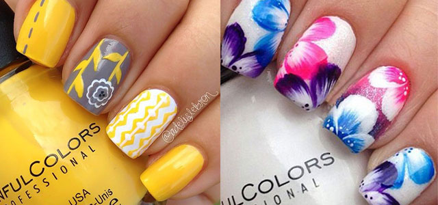 15 Spring Flower Nail Art Designs Ideas Trends Stickers 2017 Fabulous