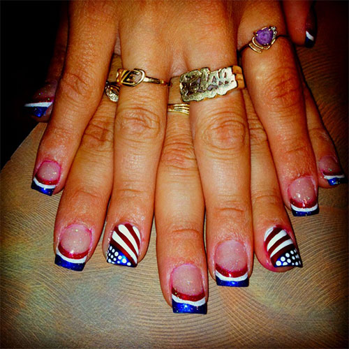 15 Fourth Of July Acrylic Nail Art Designs