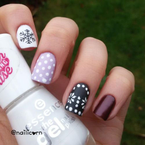 20 Simple Easy Themed Nails Art Designs