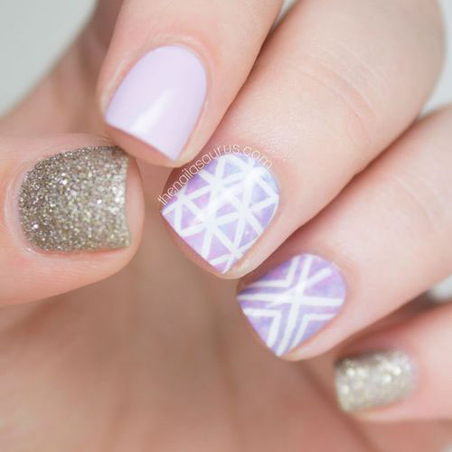 20-Cute-Simple-Easy-Winter-Nail-Art-Designs- - Cute, Simple & Easy Winter Nail Art - Myeva For Healthcare, Skin