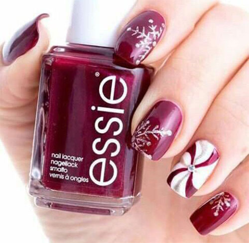 10 Ideas For Chinese New Year Nail Art 2016 7