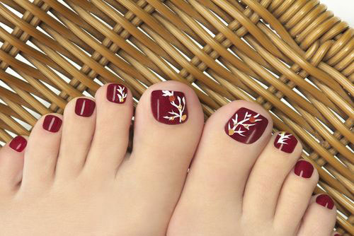 10 Winter Toe Nail Art Designs Ideas Trends