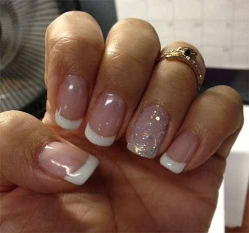 12 Gel Nails French Tip Designs Ideas 2017 Fabulous Nail Art