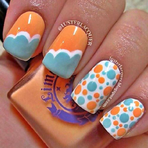 20 Easy Cute Summer Nail Art Designs Ideas