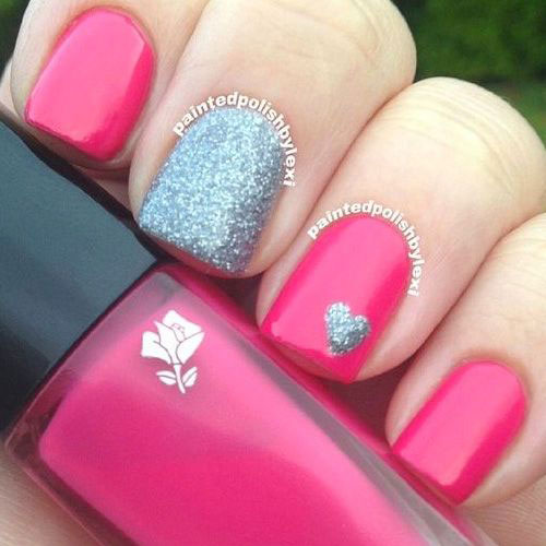 Nail Art Simple Designs 2017 Easy Valentine S Day Ideas Vday Nails