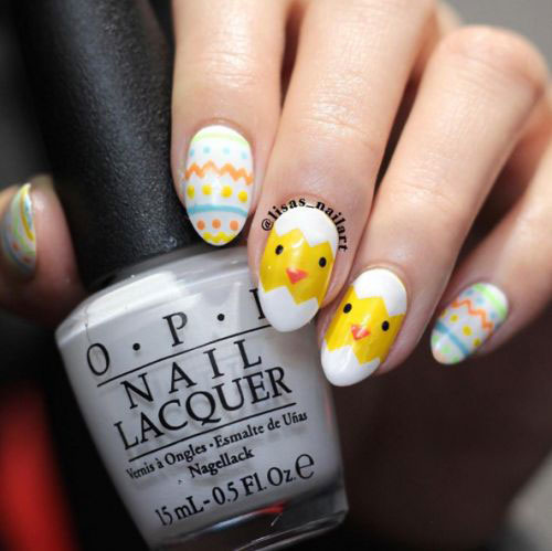 35 Best Easter Nail Art Designs Ideas 2017
