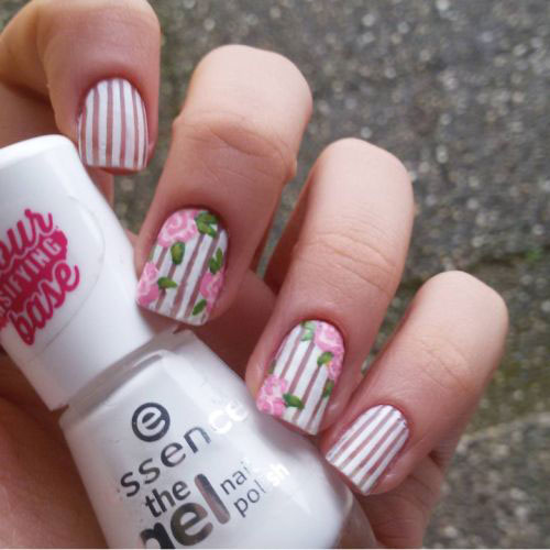 Spring Nail Art Colors Trend 2017