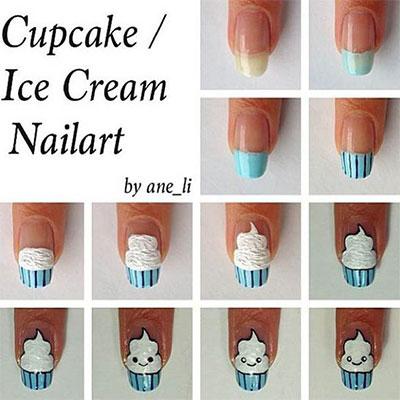 12 Easy Summer Nail Art Tutorials For Beginners