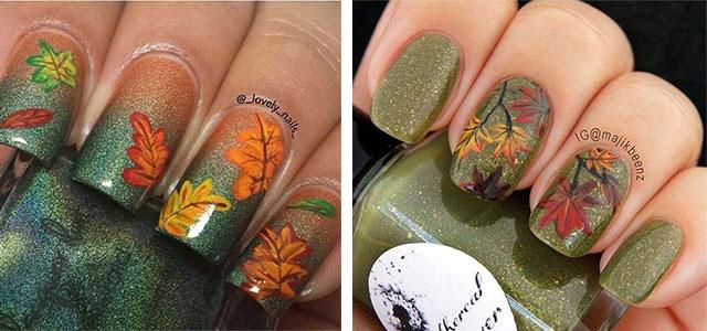 Fall Wedding Nail Designs