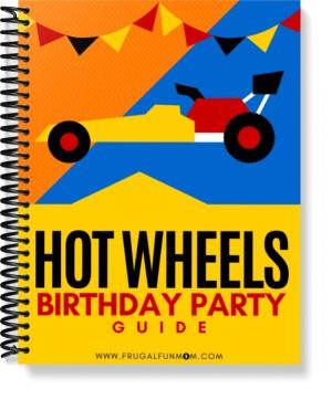 Hot Wheels Birthday Party Guide | Frugal Fun Mom