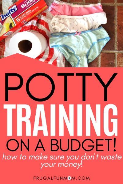 Potty Training On A Budget   Frugal Fun Mom
