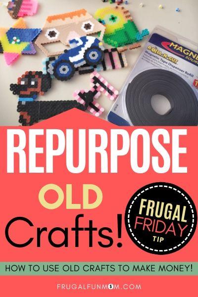 Repurpose Old Crafts - Frugal Friday Tip #17   Frugal Fun Mom