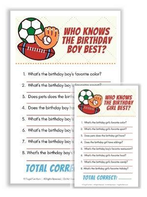 Virtual Sports Birthday Party | Frugal Fun Mom